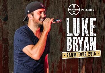 Luke Bryan Announces Guest Artists for Farm Tour