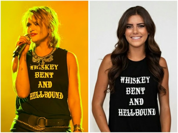 Get the Look: Miranda Lambert's 'Whiskey Bent And Hellbound' Tank