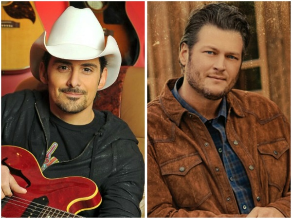 Blake Shelton, Brad Paisley to Headline 25th Annual Country Jam