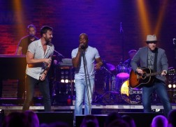 CMA Songwriters Series Tapes In Nashville with Darius Rucker, Brett Eldredge, & Ronnie Dunn