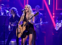 Carrie Underwood and Toby Keith Make Late Night Television Appearances