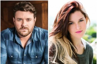 Chris Young and Cassadee Pope Talk Football