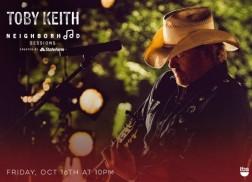 Toby Keith On TBS' 'Neighborhood Sessions' Tonight!