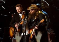 Watch Chris Stapleton and Justin Timberlake's Jaw-Dropping CMA Awards Performance
