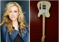 Autographed Clare Dunn Guitar Sweepstakes