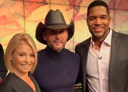 Tim McGraw Makes Television Rounds