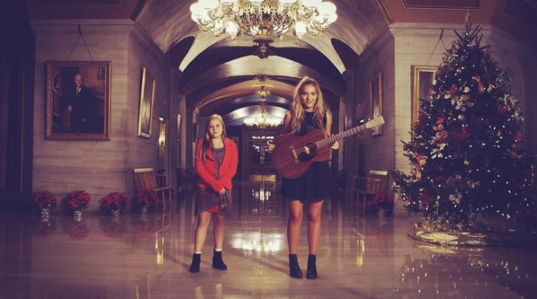Lennon & Maisy's Live Version Of 'Silent Night' Is Perfection