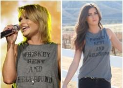 WIN: Whiskey Bent And Hellbound Tank (As Seen On Miranda Lambert!)