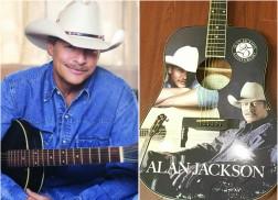 WIN: Alan Jackson Autographed Guitar