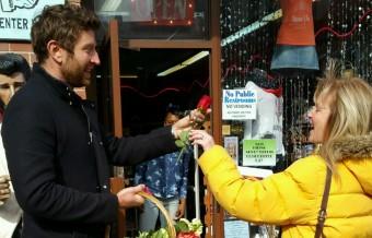 Brett Eldredge 'Flower Bombs' Nashville