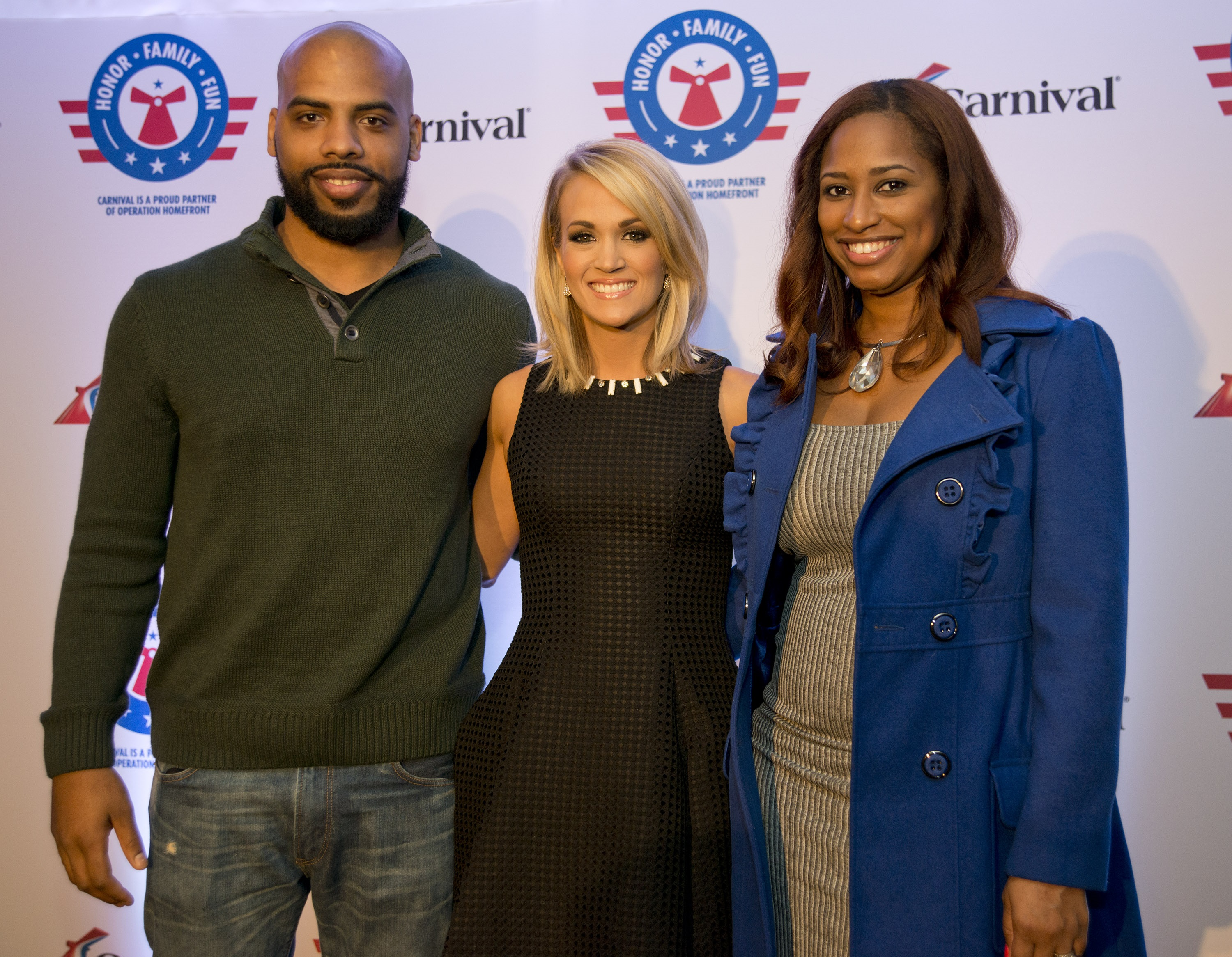 Carrie underwood reveals partnership with carnival cruise lines and photo credit andy newmancarnival cruise line kristyandbryce Images