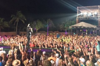 Cole Swindell, Chris Stapleton and Craig Campbell Energize Beach Concert