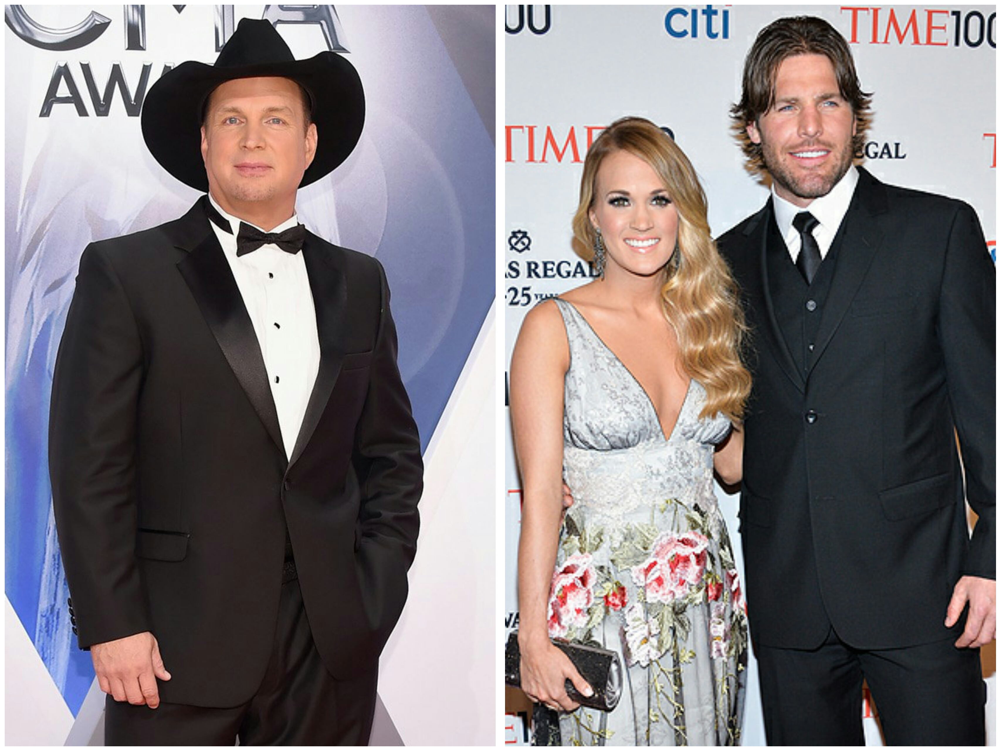 Garth brooks duets with carrie underwood s husband mike fisher