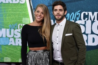 Thomas Rhett Gushes Over His Wife, Lauren