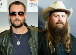 Eric Church, Chris Stapleton Lead 51st Annual ACM Awards Nominees