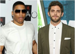 Nelly Covers Thomas Rhett's 'Die A Happy Man'