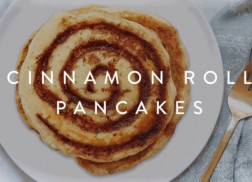 RECIPE: Cinnamon-Roll Pancakes
