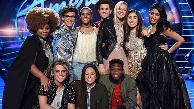 'American Idol' Names Its Top 10