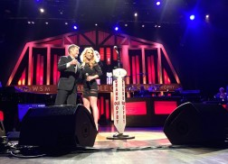 Britney Spears Surprises Jamie Lynn Spears at Grand Ole Opry
