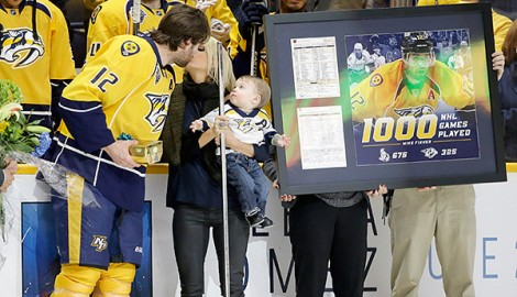 Mike Fisher Gets Candid on 'Life-Changing' Trade to Nashville