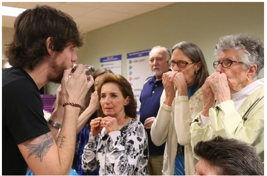 Chris Janson, ACM Lifting Lives Partner with COPD Foundation for Harmonicas for Health