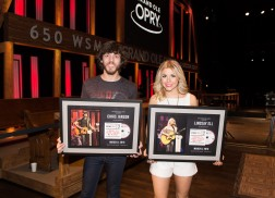 Lindsay Ell, Chris Janson Celebrate Release of 'OPRY 9.0, Vol. II: Discoveries From The Circle'