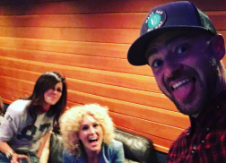 Justin Timberlake in the Studio Writing with Little Big Town