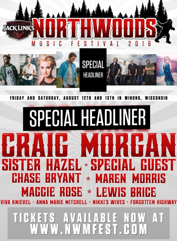 2nd Northwoods Music Festival Announced | Sounds Like ...