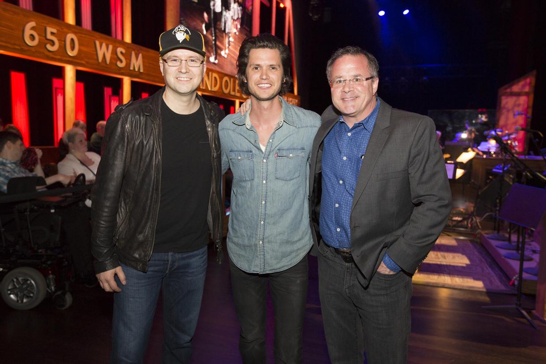 Steve Moakler Makes Grand Ole Opry Debut