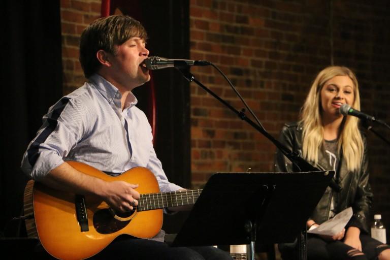 Dave Barnes and Kelsea Ballerini Debut New Song at Tin Pan South