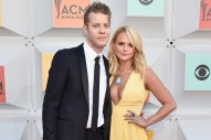 Miranda Lambert Joins Anderson East and Chris Stapleton on Stage to Sing 'My Girl'
