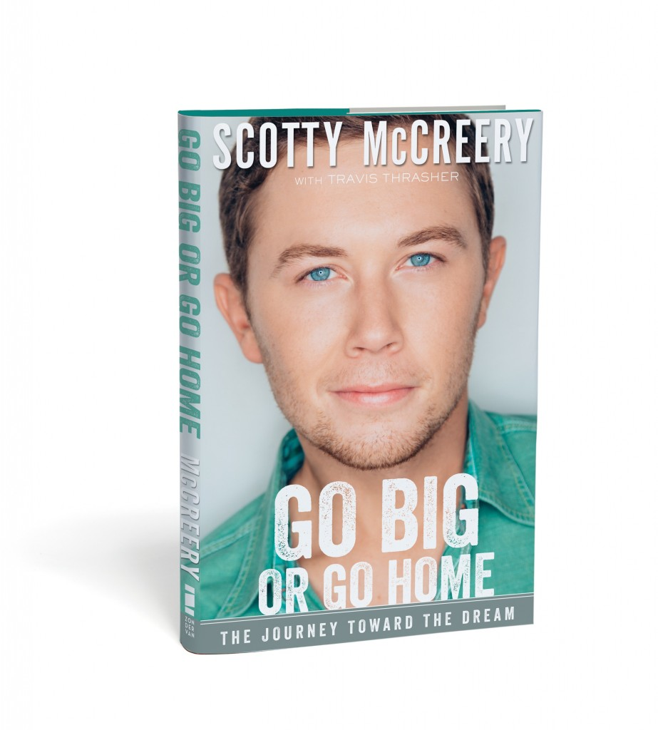 Scotty mccreery announces 39 go big or go home 39 book tour for Dream home book tour