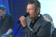 Blake Shelton Discusses New Album, Performs 'Came Here to Forget' on 'Today'