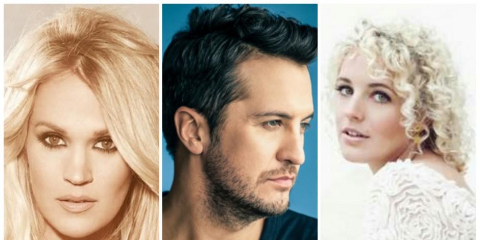Carrie Underwood, Luke Bryan Among 2016 CMT Music Awards Nominees