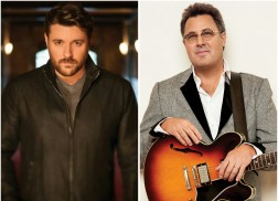 Chris Young Loves Updating Vince Gill on 'Sober Saturday Night'