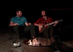 Drake White Celebrates 100 Years of National Parks with Campfire Performance of 'Livin' The Dream'