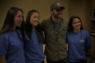 Exclusive: Drake White Makes First Stop on 'Giving the Dream' Journey