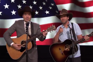 Jimmy Fallon and Adam Sandler Channel Garth Brooks for 'Friends on All Bases'