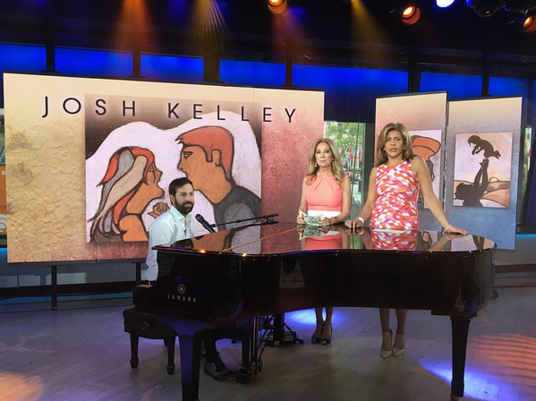 Josh Kelley Performs 'It's Your Move' on 'TODAY'
