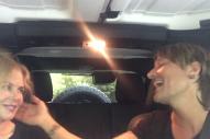 Keith Urban and Nicole Kidman Spoof Carpool Karaoke, Sing 'The Fighter'
