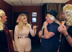 Rascal Flatts Plays Trivia, Jokes with Kelsea Ballerini in Tour Video