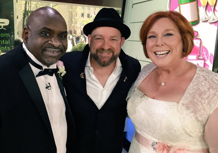 Kristian Bush Performs 'Forever Now' to Today Show Newlyweds
