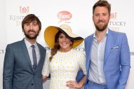 Lady Antebellum Sings the National Anthem in Pouring Rain at the Kentucky Derby