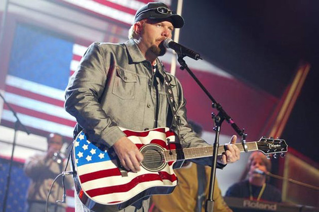 Political Controversy Stirs Over Toby Keith's Scheduled Performance at Ribfest