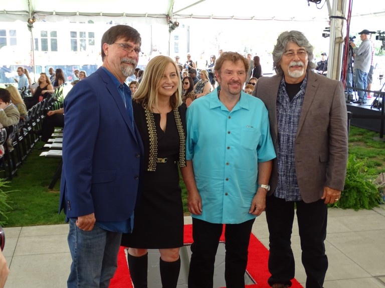 Sam Moore, Alabama Receive Stars on the Nashville Walk of Fame