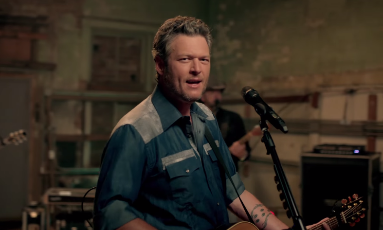Blake Shelton's Got a Way With Words in His New Music Video