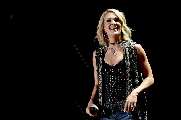 Carrie Underwood, Sam Hunt Bring the Party to Friday's CMA Fest Nightly Concert