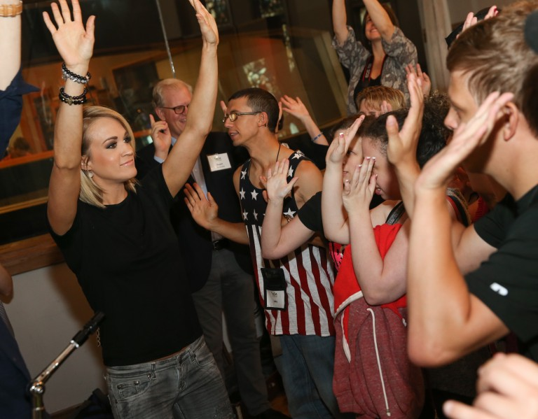 Carrie Underwood, Rascal Flatts Take Part in 7th Annual ACM Lifting Lives Music Camp