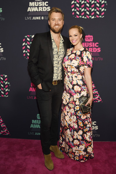 Lady Antebellum's Charles Kelley and his wife Cassie; Photo by Getty Images