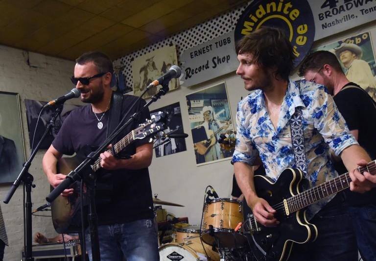Eric Church, Brothers Osborne Jam with Charlie Worsham at Midnite Jamborees